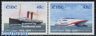 100 Years Rosslare ferry 2v [:]