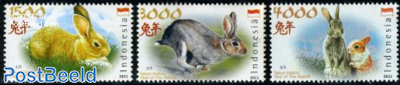 Year of the rabbit 3v