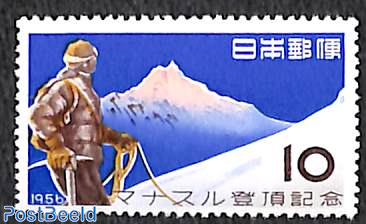 Mount Manaslu climbing 1v