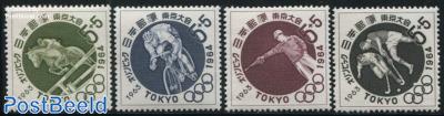 Olympic games Tokyo 4v