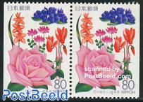 Gifu, rose booklet pair