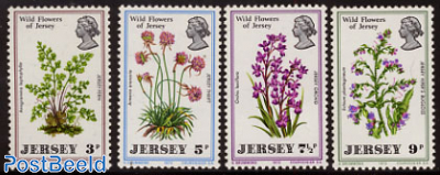Wild flowers 4v