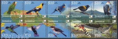 Caribbean bird festival 10v [++++]