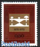 Montenegro telegraph 1v