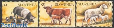 Farm animals 3v