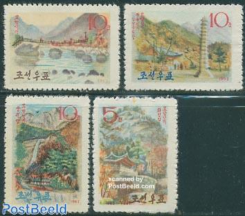 Myohyang mountains 4v