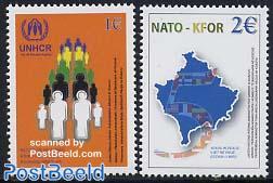 Kosovo, NATO/UNHCR 2v