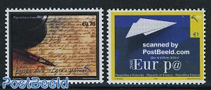 Europa, the letter 2v
