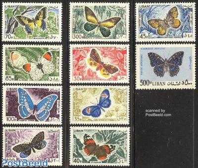 Butterflies 10v