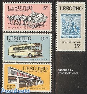 Postal service 4v