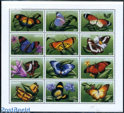 Butterflies 12v m/s (12x20c)