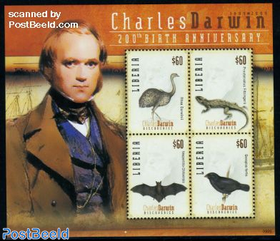 Charles Darwin 4v m/s