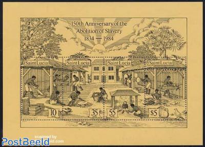 150 years emancipation s/s