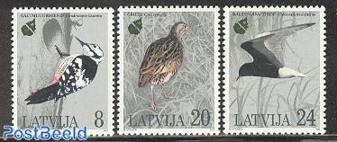European nature conservation, birds 3v