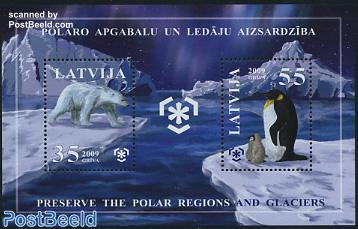 Preserve Polar regions and glaciers s/s