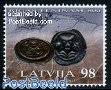 800 Years Riga coin 1v
