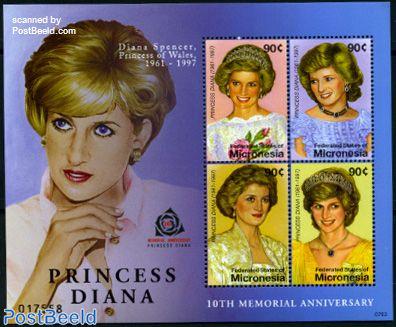 Princess Diana 4v m/s