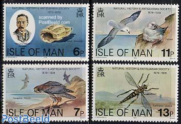 Natural history society 4v