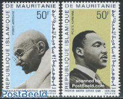 Gandhi, M.L. King 2v