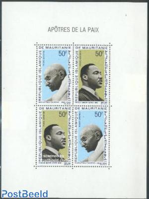 Gandhi/M.L. King s/s