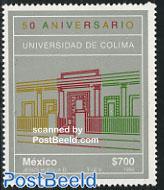 50 years Colima university 1v