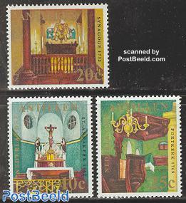 Churches & synagogues 3v