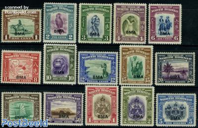BMA overprints 15v