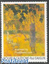 Paul Gaugin painting 1v
