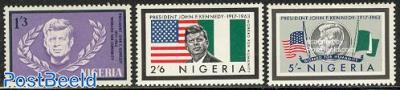J.F. Kennedy 3v