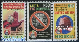 Say no to corruption 3v