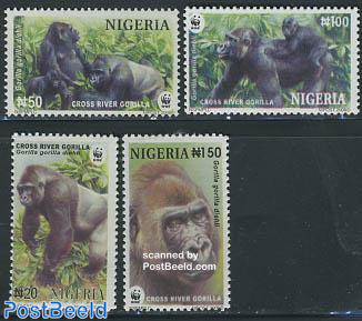 WWF, Gorilla 4v