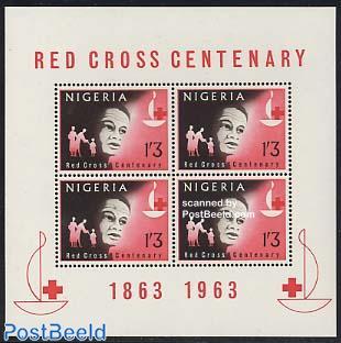 Red Cross centenary s/s