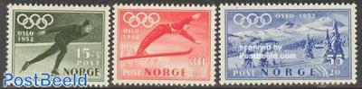 Olympic Winter Games Oslo 3v