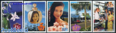 Perfumed stamps 5v