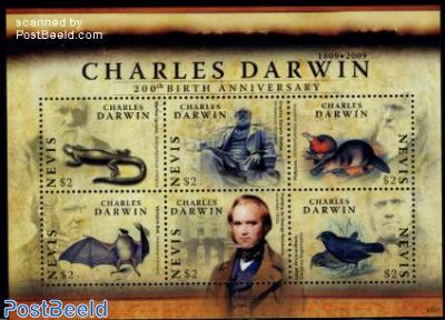 Charles Darwin 6v m/s