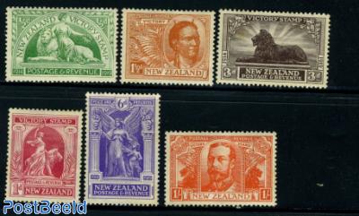 Victory stamps 6v