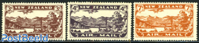Airmail issue 3v