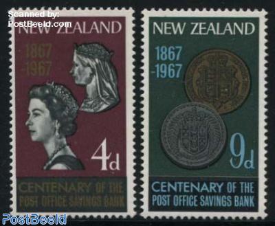 Postal saving bank 2v