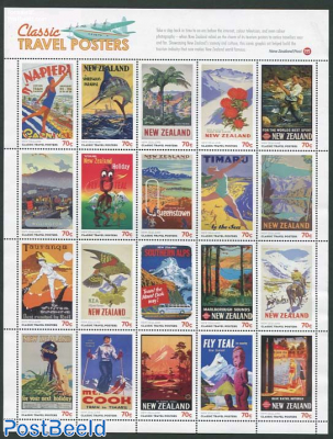 Classic travel posters 20v m/s