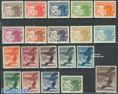 Airmail definitives 20v
