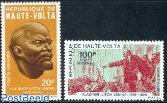 W.I. Lenin birth centenary 2v