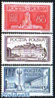 Warsaw reconstruction 3v
