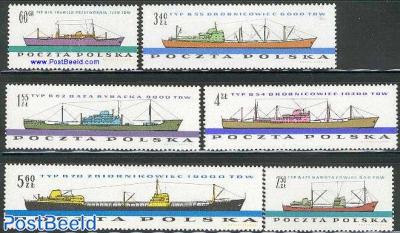 Ship building 6v