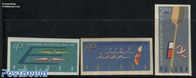 European canoe games 3v imperforated