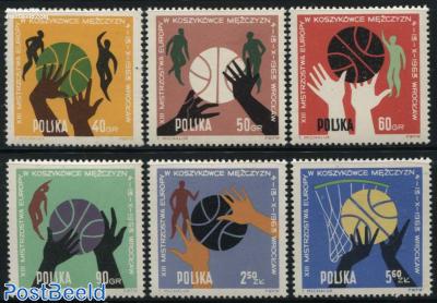 European basketball games 6v