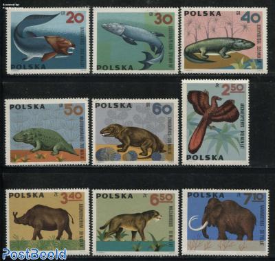 Prehistoric animals 9v