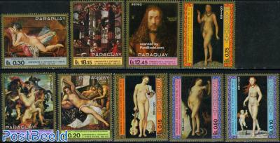 Pinakothek paintings 9v