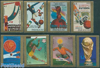 World Cup Football, posters 8v