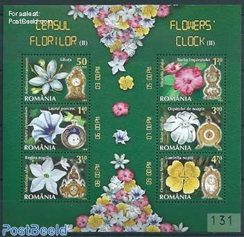 Clocks & flowers special s/s