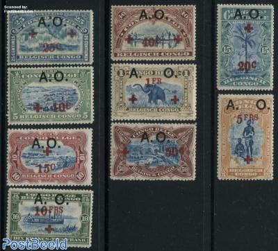 A.O. Overprints 9v